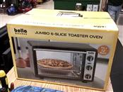 BELLA KITCHEN Microwave/Convection Oven JUMBO 6 SLICE TOSSTER OVEN